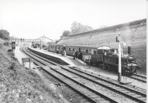 C 15.Newnham Station - branch line train